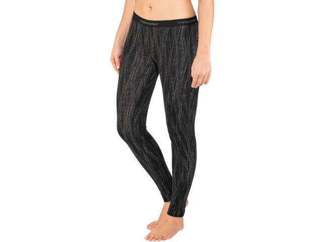Icebreaker 250 Vertex Undertøj Damer grå/sort | Undertøj og svedtøj